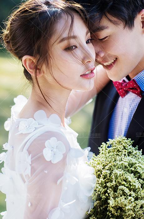 【拉菲皇后婚纱摄影】小森系