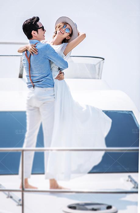 【拉菲皇后婚纱摄影】游艇